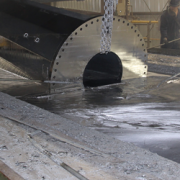 applying corrosion resistant coating by galvanizing