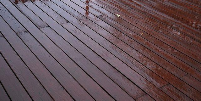 anti slip paint on wet wood