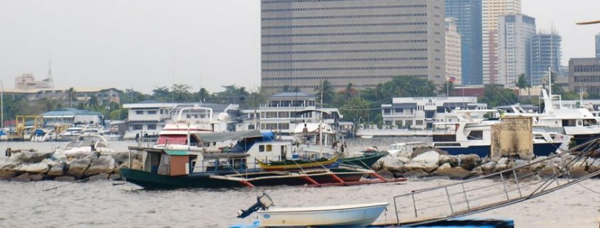 marine coating in an important role in manila harbour